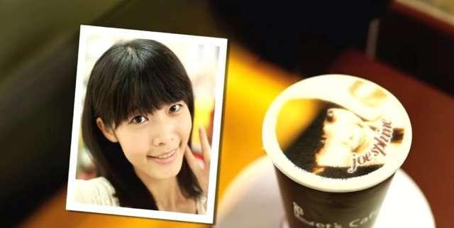 Фотографии на кофе от тайваньской компании (4 фото + видео)