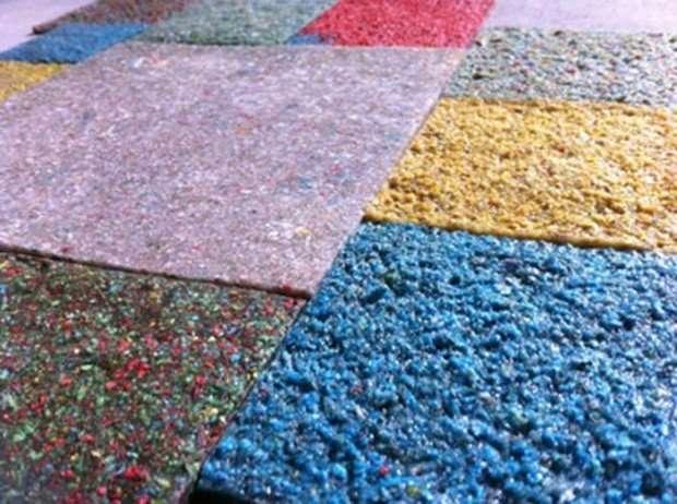 Из мочи и кала улиток можно делать разноцветную плитку для пола