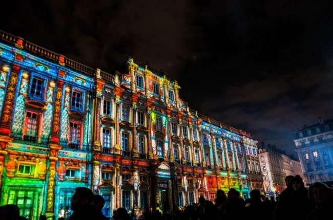 Фестиваль света во Франции (25 фото)