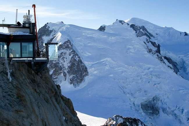 Самая страшная смотровая площадка в Альпах (12 фото)
