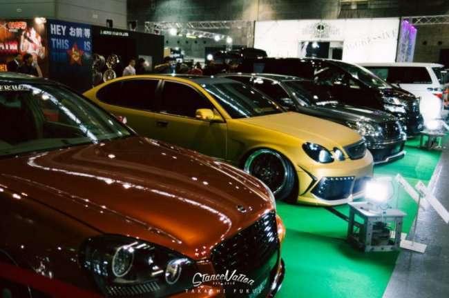 Ежегодная выставка модифицированных машин в Осаке (76 фото)