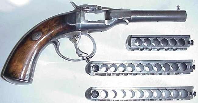 Необычное оружие - Пистолет Гармоника (4 фото)