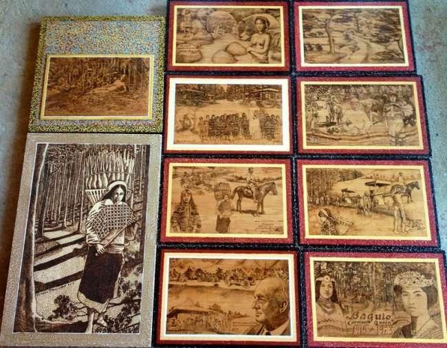 Картины, выжженные солнцем (9 фото)