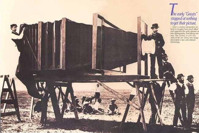 Самый большой фотоаппарат в мире (6 фото)