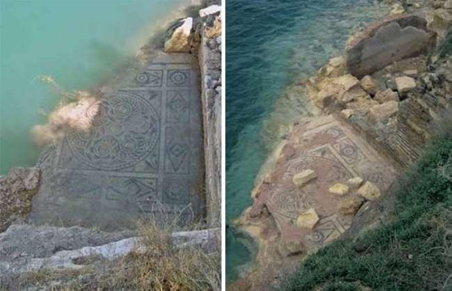 В Турции обнаружена 2000-летняя фреска (14 фото)