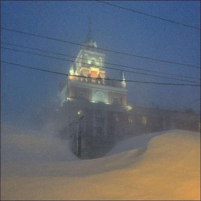 Сугробы Владивостока (8 фото)