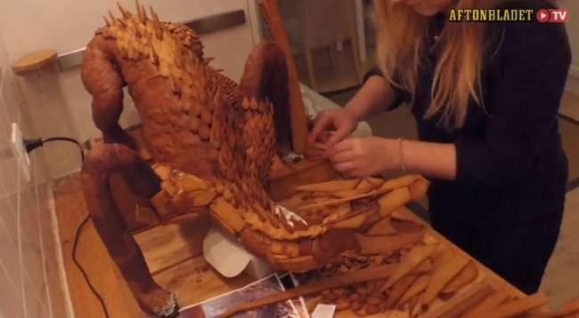 Смауг из имбиря (5 фото)