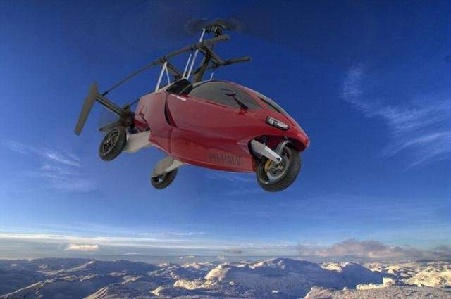 PAL-V One - летающий автомобиль (7 фото)