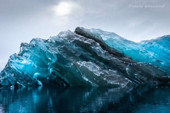Перевернутый айсберг (6 фото)