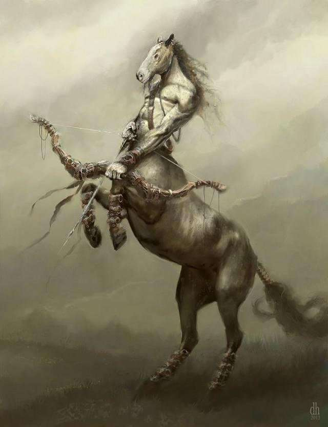 Чудовищные знаки зодиака от Деймона Хелландбранда (12 фото)