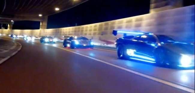 Съезд владельцев Lamborghini в Японии (18 фото)