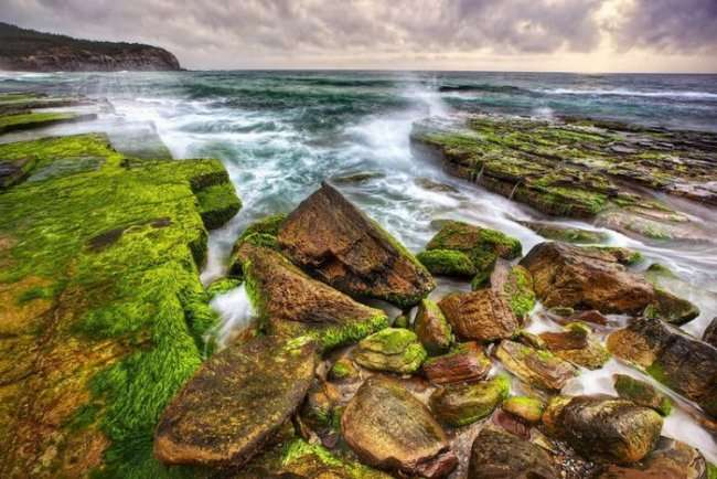 Пляж Туриметта в Австралии (9 фото)