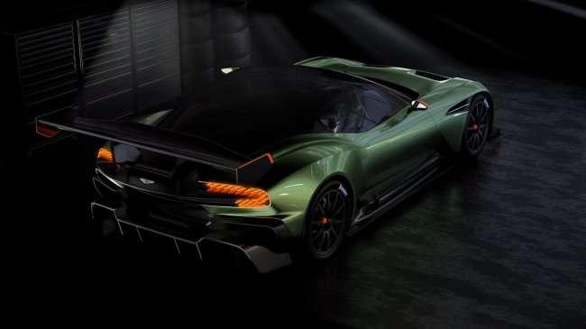 """Новый """"Вулкан"""" от Aston Martin (5 фото)"""