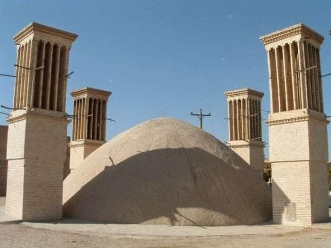 Дышащие башни из Ирана (7 фото)