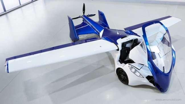 Летающий автомобиль AeroMobil (9 фото)