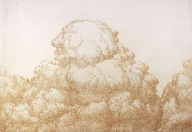 Серия картин нарисованных ароматическими палочками (11 фото)