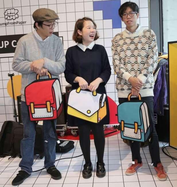 Рюкзаки как будто из мультипликации (11 фото)
