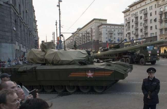 Военная техника на параде Победы 2015 года (11 фото)