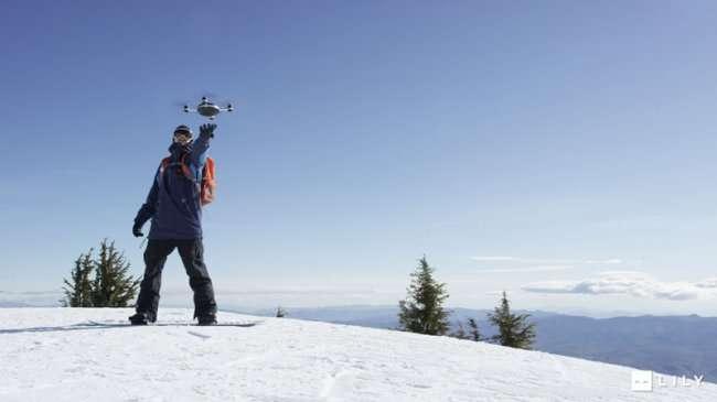 Лили - первая летающая умная камера в мире (11 фото + видео)