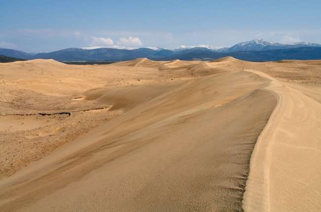 Пустыня среди ледников в Забайкалье: Чарские пески