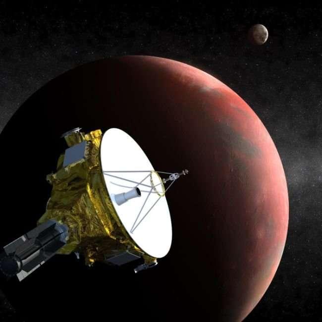 Космический аппарат New Horizons сделал самый качественный снимок Плутона (13 фото)