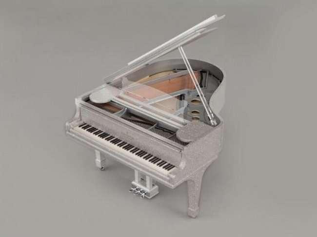 Бриллиантовый рояль (5 фото)