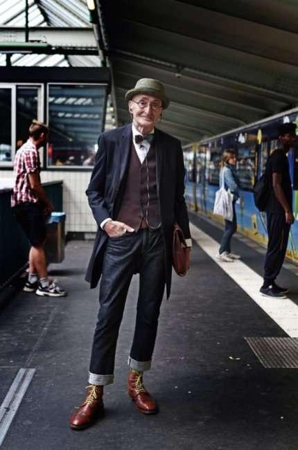 Гюнтер Краббенхёфт – самый стильный пенсионер Берлина (15 фото)