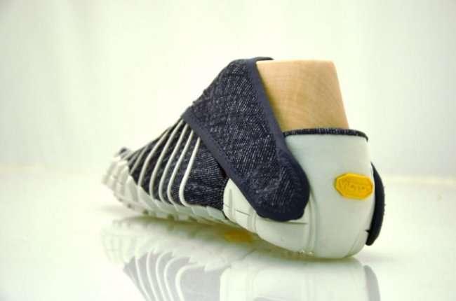 Эти кроссовки в точности повторяют форму ноги своего владельца (6 фото)