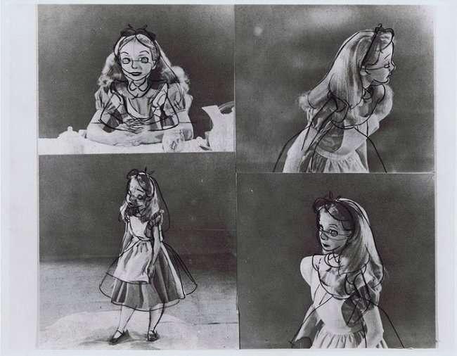 Как рисовали образ диснеевской Алисы (10 фото)