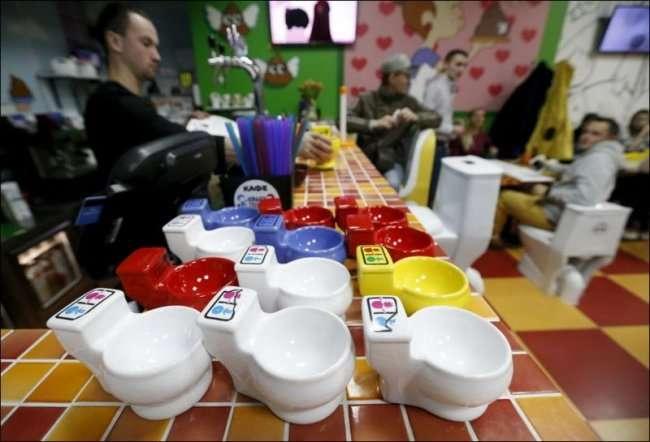 В Москве открылось уникальное кафе (16 фото)