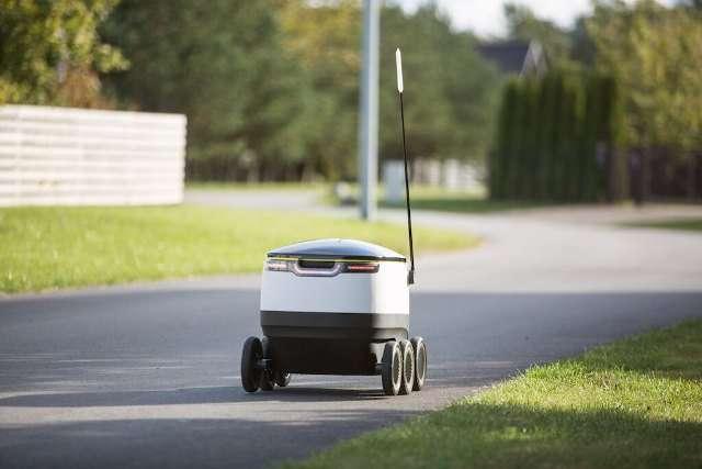 Робот-почтальон от создателей Skype (7 фото + видео)