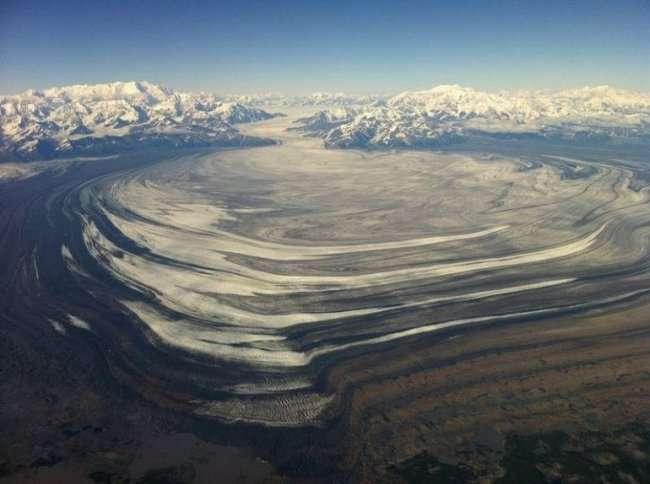 Ледник Слоновья Нога (7 фото)