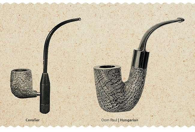 Уникальные формы курительных трубок (7 фото)