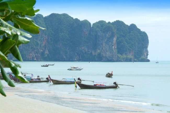 Курорт Ао Нанг в Таиланде (4 фото)