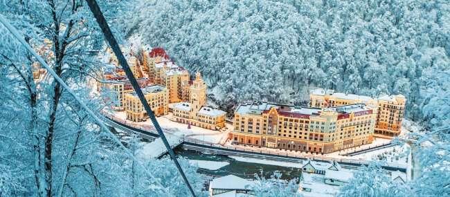 Великолепный зимний отдых на Розе Хутор