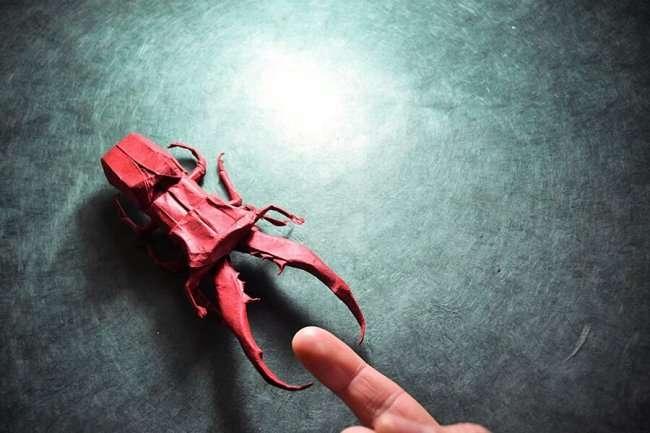 Удивительные оригами от Гонсало Гарсия Кальво (25 фото)