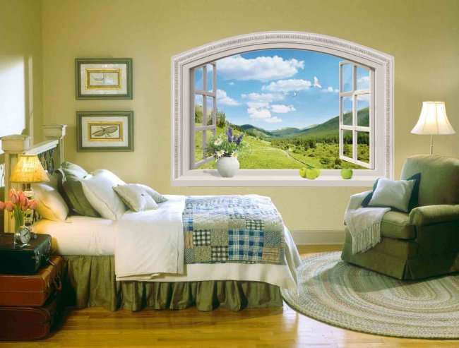 10 необычных окон, которые украшают интерьер (10 фото)
