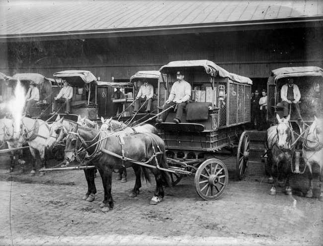 Интересные факты о перевозках во все времена (5 фото)