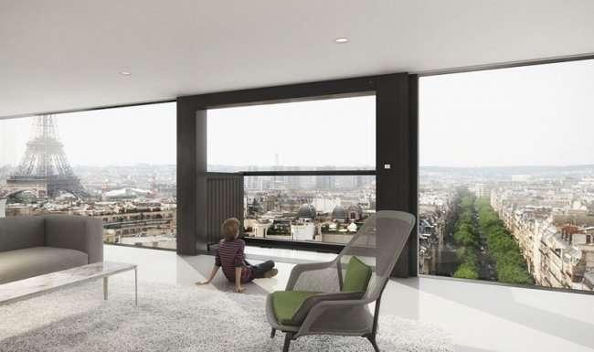 И окно превращается, превращается окно в роскошный балкон (4 фото + видео)