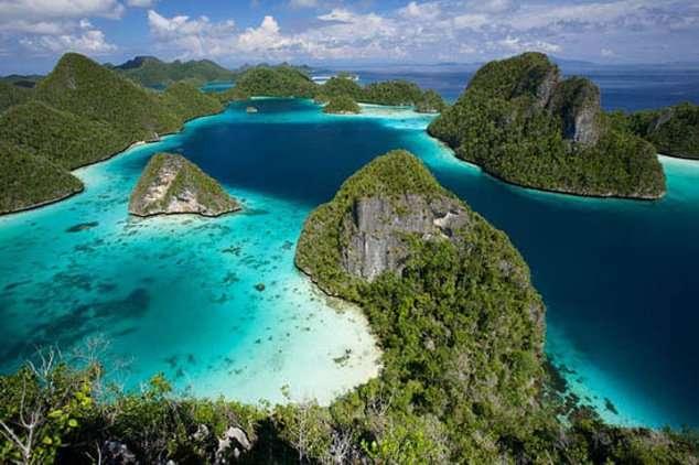 Удивительные страны нашей планеты (9 фото)