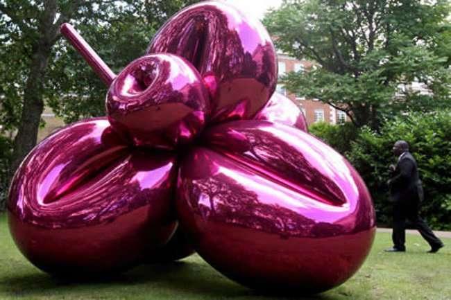Уникальные скульптуры из воздушных шариков (7 фото)