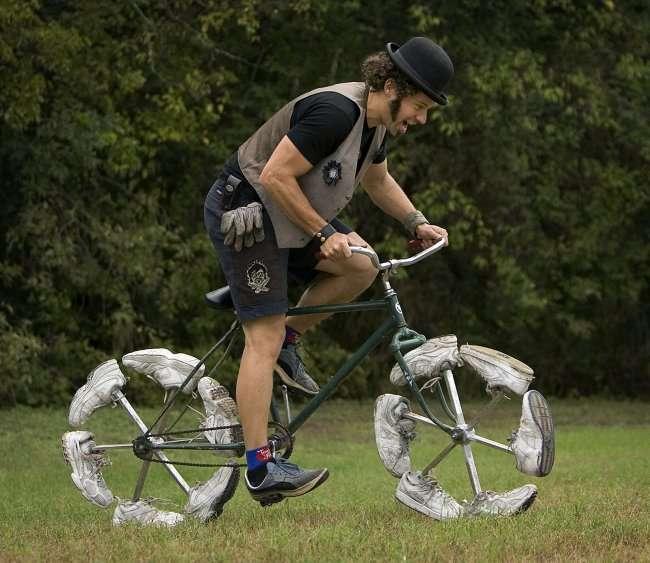 Уникальные модели велосипедов (6 фот)