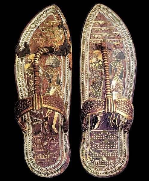 Сандали фараона Тутанхамона (фото дня)