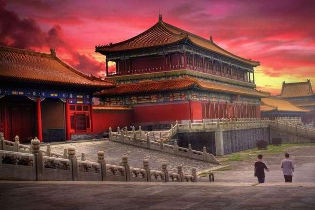 Пекин - уникальный город (4 фото)