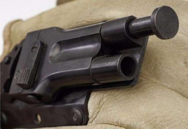 Пистолет-перчатка Sedgley OSS.38 (6 фото)