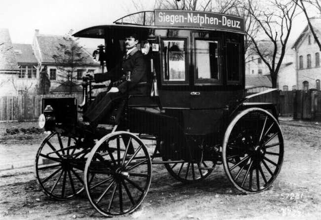 История создания и интересные факты об автобусах (5 фото)