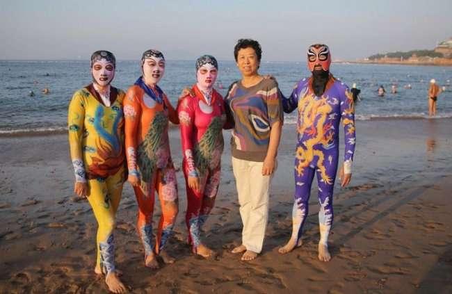 Фейскини - новая модная тенденция в купальниках (8 фото)