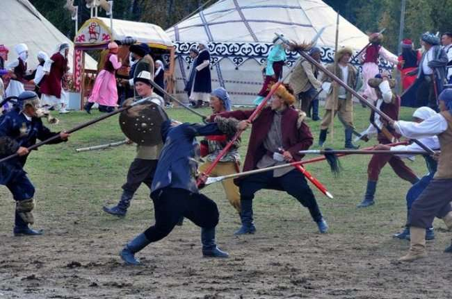 Открытие международных игр кочевников (29 фото)