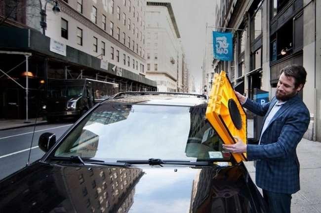 Блокиратор стекла для нарушителей закона