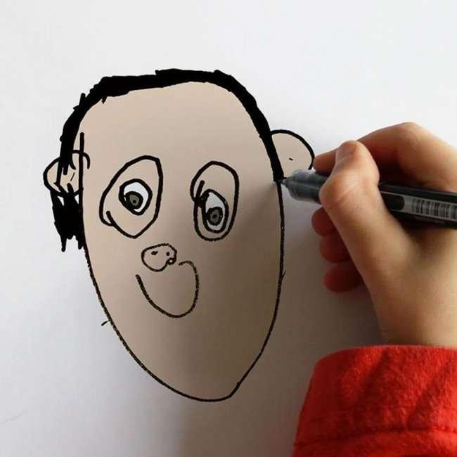 Рисунки ребенка «воплощенные в реальность» (18 фото)